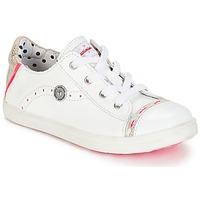 Skor Flickor Sneakers Catimini PANDA Vit / Venus
