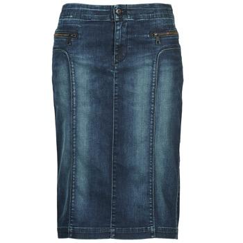 textil Dam kjolar Diesel DE-TRENKER Blå