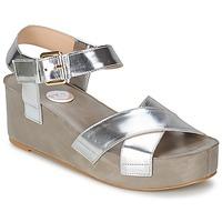 Skor Dam Sandaler RAS NIOBE Silverfärgad