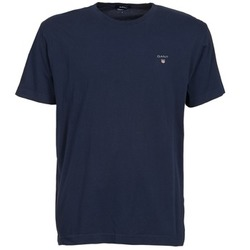 textil Herr T-shirts Gant SOLID Marin