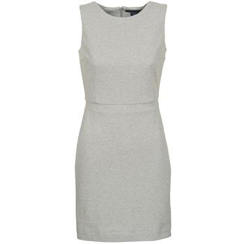 textil Dam Korta klänningar Gant L. JERSEY PIQUE Grå