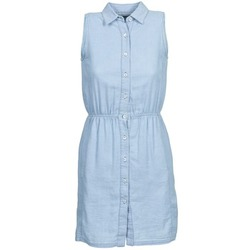 textil Dam Korta klänningar Gant O. INDIGO JACQUARD Blå