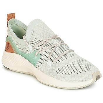 Skor Dam Sneakers Timberland FlyRoam Go Knit Chukka Blå / Blommor