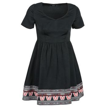 textil Dam Korta klänningar Eleven Paris NANA Svart