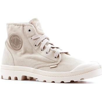 Skor Herr Höga sneakers Palladium Manufacture Pampa Hi 02352-238-M beige