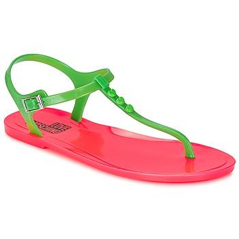 Skor Dam Sandaler Love Moschino JA16381G0KJN180A Grön / Rosa