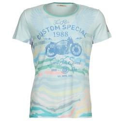 textil Herr T-shirts Gaudi ABHIJVALA Blå