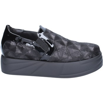 Skor Dam Slip-on-skor Jeannot BX129 Svart