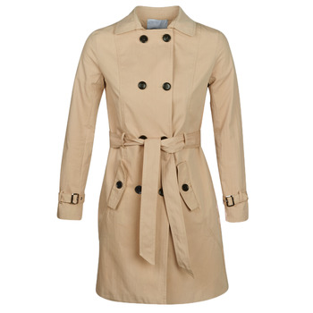 textil Dam Trenchcoats Betty London JIVELU Beige