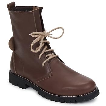Skor Dam Boots Swamp BIKE Brun