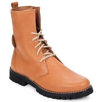 Skor Dam Boots Swamp BIKE Beige