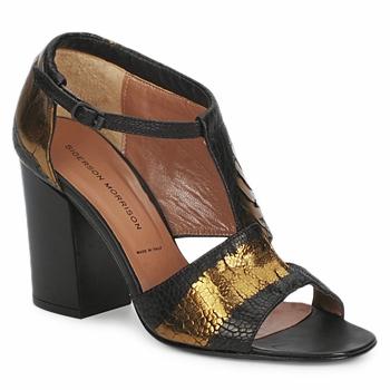 sandaler Sigerson Morrison STRUZZO Svart / Brons 350x350