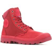 Skor Boots Palladium Manufacture Pampa Sport Cuff WPN 73234-653 red