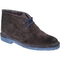Skor Dam Boots Kep's By Coraf KEP'S polacchini stivaletti t. moro camoscio BX659 Marrone