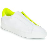 Skor Dam Sneakers KLOM KISS Vit / Gul