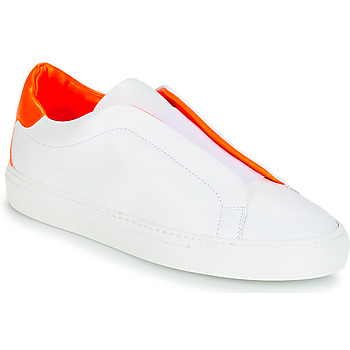 Skor Dam Sneakers KLOM KISS Vit / Orange
