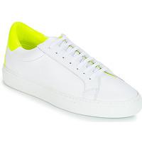 Skor Dam Sneakers KLOM KEEP Vit / Gul