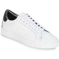 Skor Dam Sneakers KLOM KEEP Vit / Silverfärgad