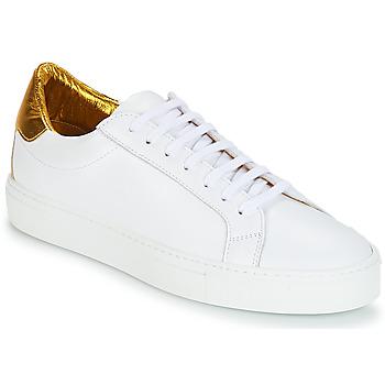 Skor Dam Sneakers KLOM KEEP Vit / Guldfärgad