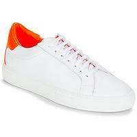 Skor Dam Sneakers KLOM KEEP Vit / Orange
