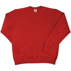 textil Herr Sweatshirts Sg SG20 Röd