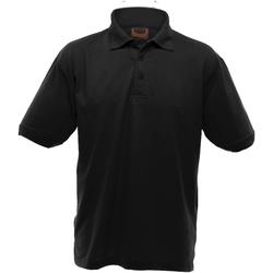 textil Herr Kortärmade pikétröjor Ultimate Clothing Collection UCC004 Svart