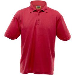 textil Herr Kortärmade pikétröjor Ultimate Clothing Collection UCC004 Röd
