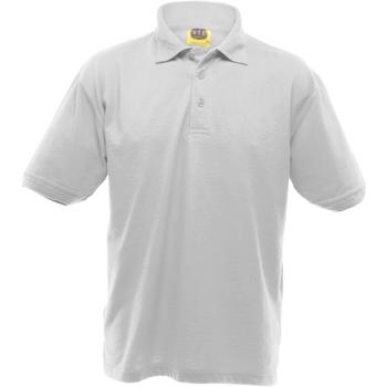 textil Herr Kortärmade pikétröjor Ultimate Clothing Collection UCC004 Vit