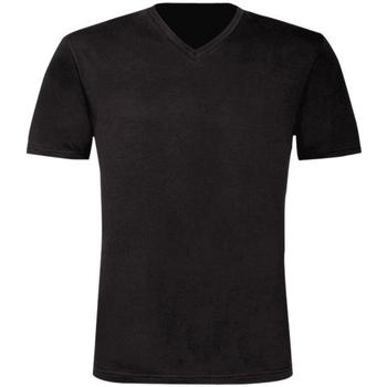 textil Herr T-shirts B And C TU006 Svart