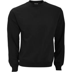 textil Herr Sweatshirts B And C WUI20 Svart