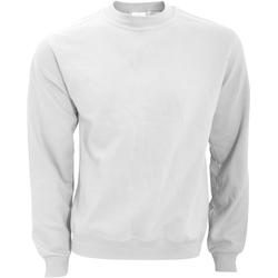 textil Herr Sweatshirts B And C WUI20 Vit