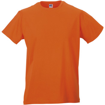 textil Herr T-shirts Russell R155M Orange