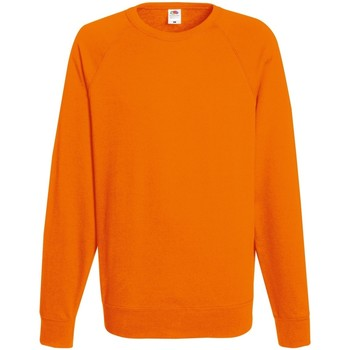 textil Herr Sweatshirts Fruit Of The Loom 62138 Orange