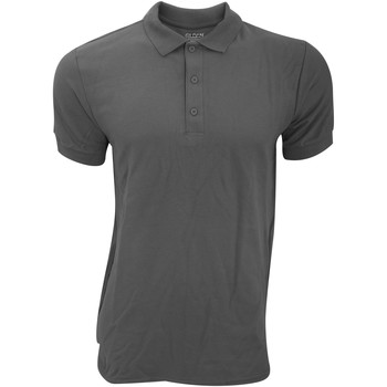 textil Herr Kortärmade pikétröjor Gildan Premium Kol