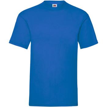 textil Herr T-shirts Fruit Of The Loom 61036 Kungliga