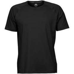 textil Herr T-shirts Tee Jays TJ7020 Svart