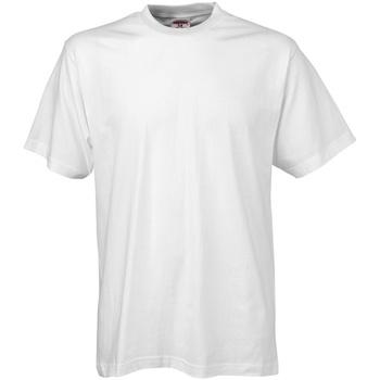 textil Herr T-shirts Tee Jays TJ8000 Vit