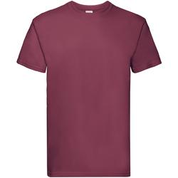 textil Barn T-shirts Fruit Of The Loom 61044 Bourgogne