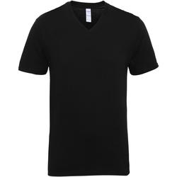 textil Herr T-shirts Gildan 41V00 Svart