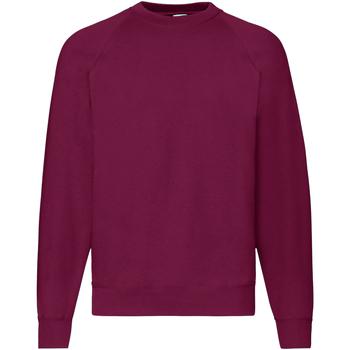 textil Herr Sweatshirts Fruit Of The Loom 62216 Bourgogne