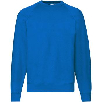 textil Herr Sweatshirts Fruit Of The Loom 62216 Kungliga
