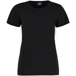 textil Dam T-shirts Kustom Kit Superwash Svart