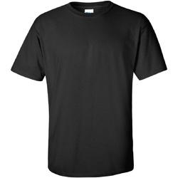 textil Herr T-shirts Gildan Ultra Svart