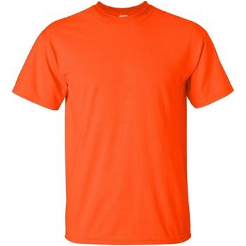 textil Herr T-shirts Gildan Ultra Orange