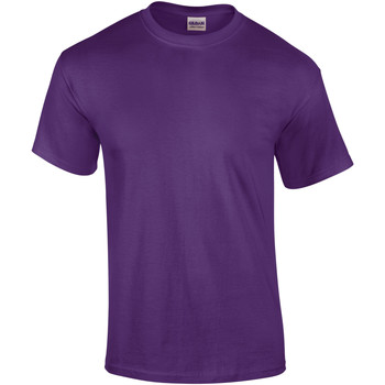 textil Herr T-shirts Gildan Ultra Lila