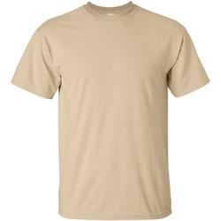 textil Herr T-shirts Gildan Ultra Tan