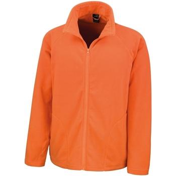 textil Herr Fleecetröja Result R114X Orange