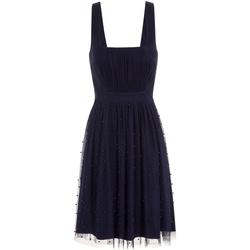 textil Dam Korta klänningar Little Mistress  Marinblått