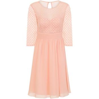 textil Dam Korta klänningar Little Mistress  Rosa