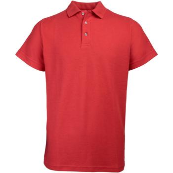textil Herr Kortärmade pikétröjor Rty Workwear Heavyweight Röd